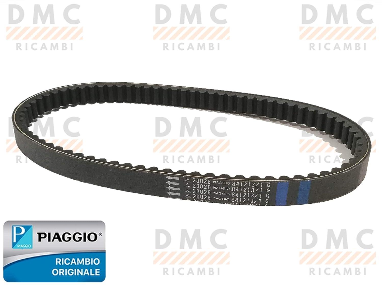 Correa distribuci/ón Piaggio Vespa GTS 125 150 Vespa LX 125-150 hasta 2012 Piaggio Liberty 125 hasta 2012 original Piaggio 841213