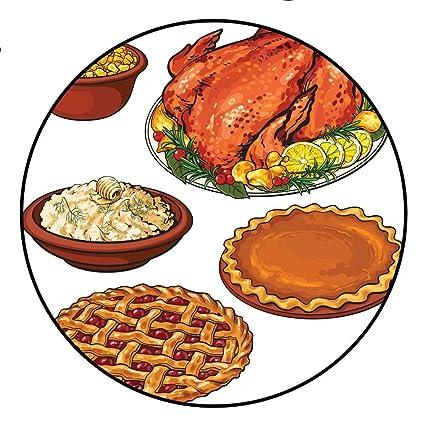 Amazon com: Door Mat IncreaseRoasted Turkey Mashed Potato