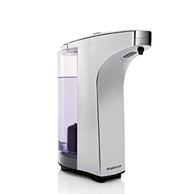 simplehuman 8 oz. Sensor Soap Pump, Brushed Nickel
