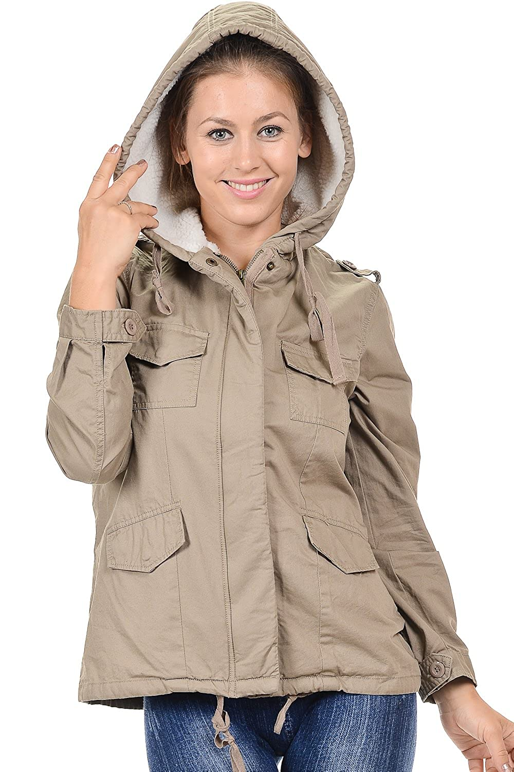 YourStyle Military Lightweight Drawstring Jacket-Versatile Anorak Parka Jackets(S-3XL)