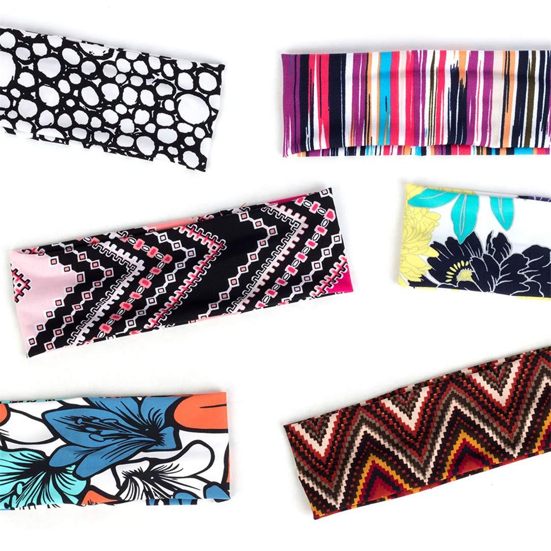 Bohemia Korean Style Print Women Hairbands Pattern Headbands Knit Soft Floral Head Wrap Hair Accessories