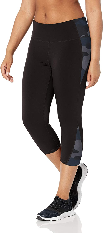athletic-leggings Mujer Essentials Colorblock Performance Mid-rise Capri Legging