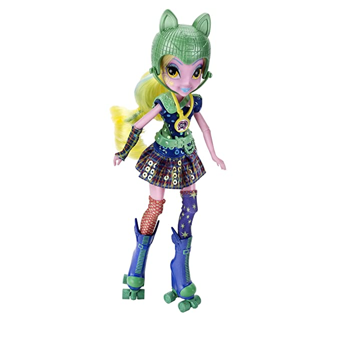 a5179790986 Amazon.com: My Little Pony Equestria Girls Lemon Zest Sporty Style Roller  Skater Doll: Toys & Games
