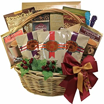 Image Unavailable. Image not available for. Color Cafe Gourmet Premium Coffee Lovers Gift Basket  sc 1 st  Amazon.com & Amazon.com : Cafe Gourmet Premium Coffee Lovers Gift Basket : Gift ...