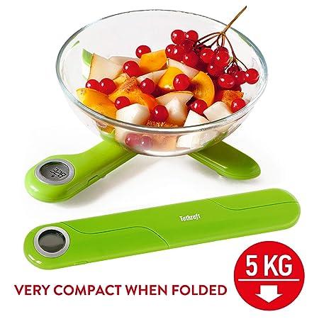 Tatkraft Compact Digitale Kuchenwaage 5kg Taschenwaage Taschengrosse