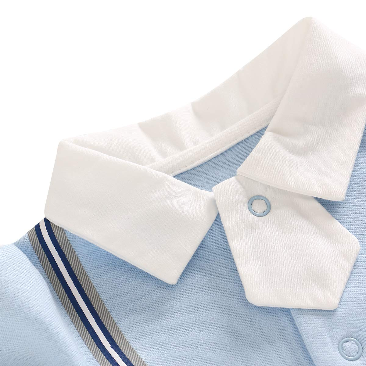 famuka Baby Jungen Anzug Baby Smoking Neugeborenen Strampler