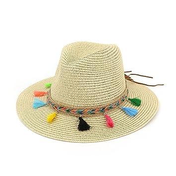 XZP Sombreros de Paja de Verano 69d3370753f