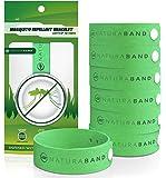 Naturabnd- Bracelets anti-moustiques - Paquet de 7 - Contrôle Totalement Naturel des Bugs & des Insectes SANS DEET