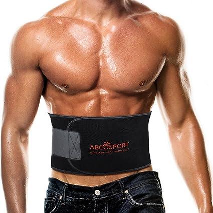 Verbrenne fette Männer im unteren Rücken