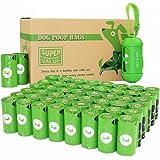 PET N PET Bolsas para caca de perro verde 720 rollos de repuesto con 1 dispensador de bolsas de caca, bolsas de basura grande