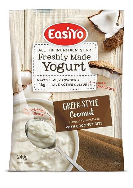 Easiyo griega y coco Yogur Mix 240g