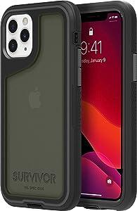 Griffin Survivor Extreme GIP-029-BKG Case for Apple iPhone 11 Pro - Black/Grey