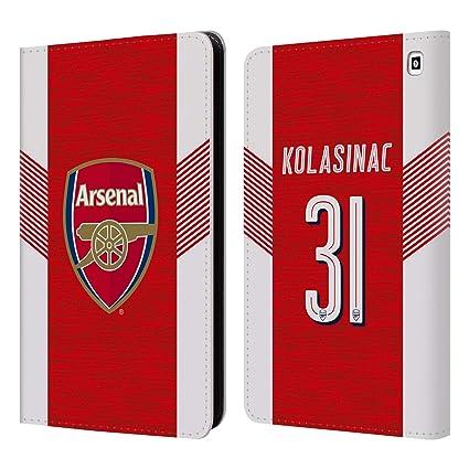 c12af537ce8 Amazon.com  Official Arsenal FC Sead Kolasinac 2018 19 Players Home ...
