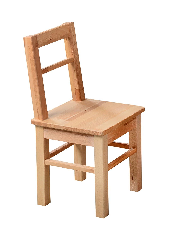 1199 - Kinder- oder Beistellstuhl aus kernbuche massiv Holz: Amazon ...