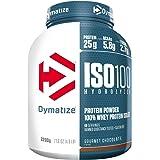 Dymatize ISO 100 Hydrolyzed Poudre d'Isolat de Protéines Faible en Sucre Riche en Protéines Chocolat 2,2 kg