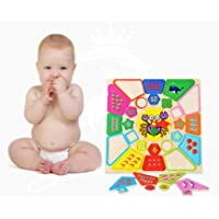 Jack Royal Learning Wooden Clock with Sea Animals