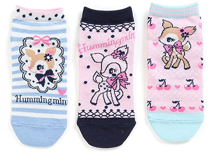 9d9050a92 Hummingmint Sanrio Kids Socks Set of 3 Japan Limited Edition -3 different  designs per order