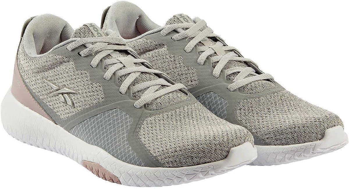 Reebok Ladies Flexagon Force Shoe Grey Pink