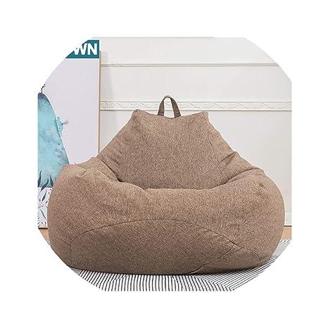 Admirable Amazon Com Acomy Bean Bag Sofa Single Chair Cover Lounger Creativecarmelina Interior Chair Design Creativecarmelinacom
