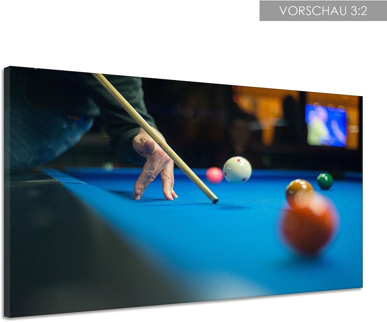 Billar KÖ pelotas bolas parte mesa números Lienzo Póster Impresión de lk0227, lona, 160x120: Amazon.es: Hogar