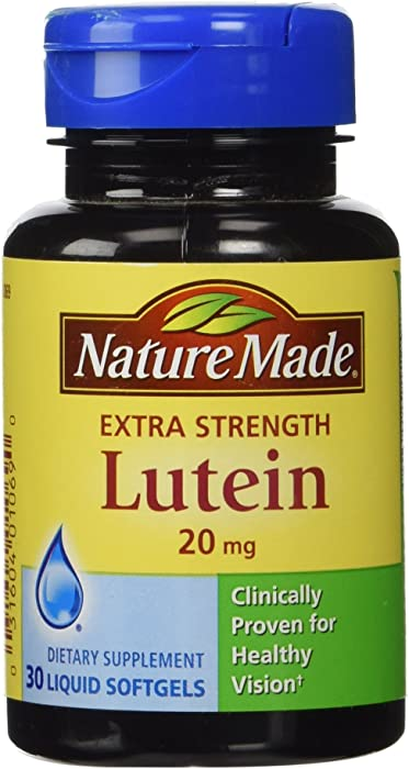 Nature Made Extra Strength Lutein - 20 mg - 30 Liquid Softgels