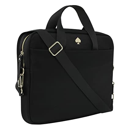 best service af9ee 6ed39 kate spade new york Nylon Laptop Bag fits most 13 Inch Apple MacBooks, 13
