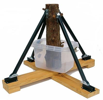 Amazon Com 4 Brace Stud Christmas Tree Stand Home Kitchen