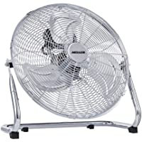 Heller 45cm Floor/Desk High Velocity Air Cooler Fan/Cooling/Circulator - Chrome