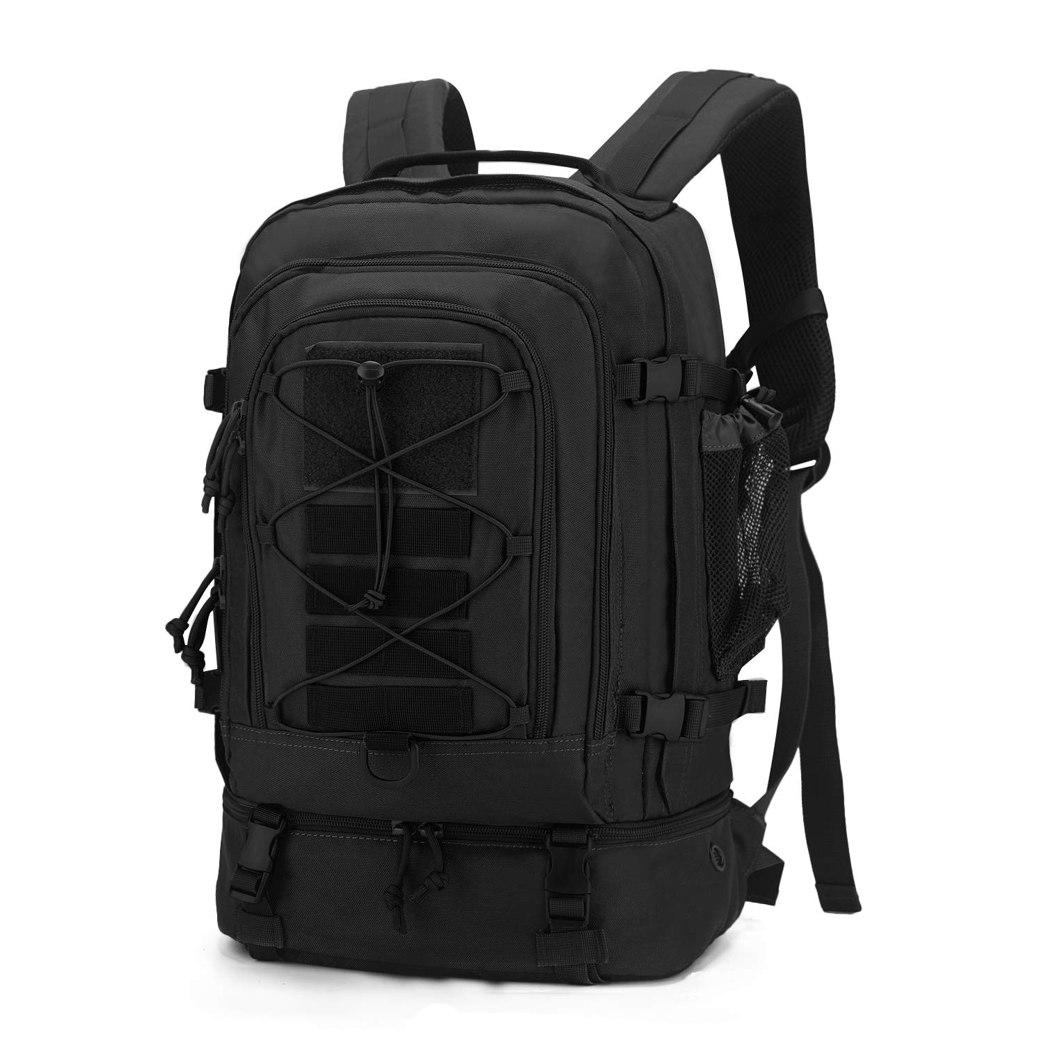 Mardingtop 28L Tactical Backpacks Molle Hiking daypacks for Camping Hiking Military Traveling (28L-Black, 28L)