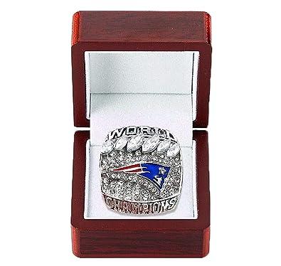Mt Sports 2019 New England Patriots Championships Ring Super