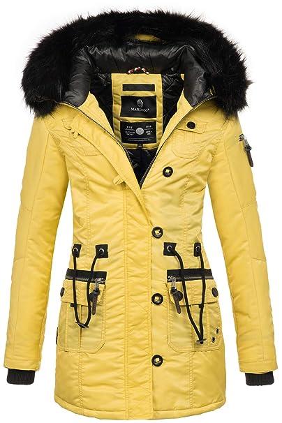 Mantel Warme B388 Jacke Winterjacke Damen Teddyfell Marikoo Parka Winter TK31lFcJ