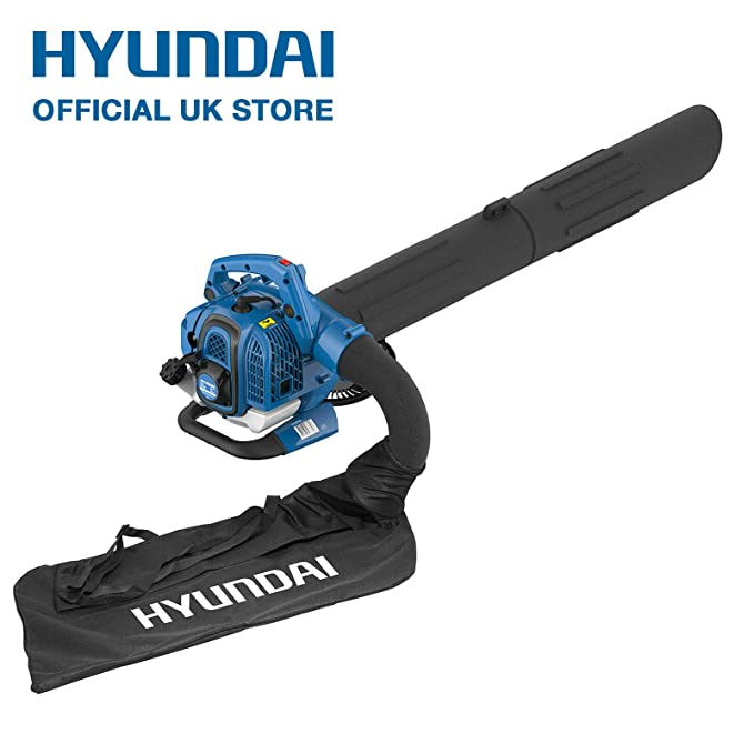 HYUNDAI 26cc Soplador de hojas a gasolina con / Trituradora y ...