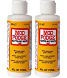 Mod Podge Waterbase Sealer, Glue and Finish (4-Ounce), CS11305 Matte Finish (pack of 2)