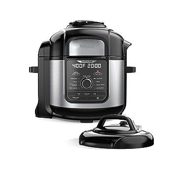Amazon.com: Ninja FD401 Foodi 8-qt. 9 en 1 Deluxe XL cocina ...