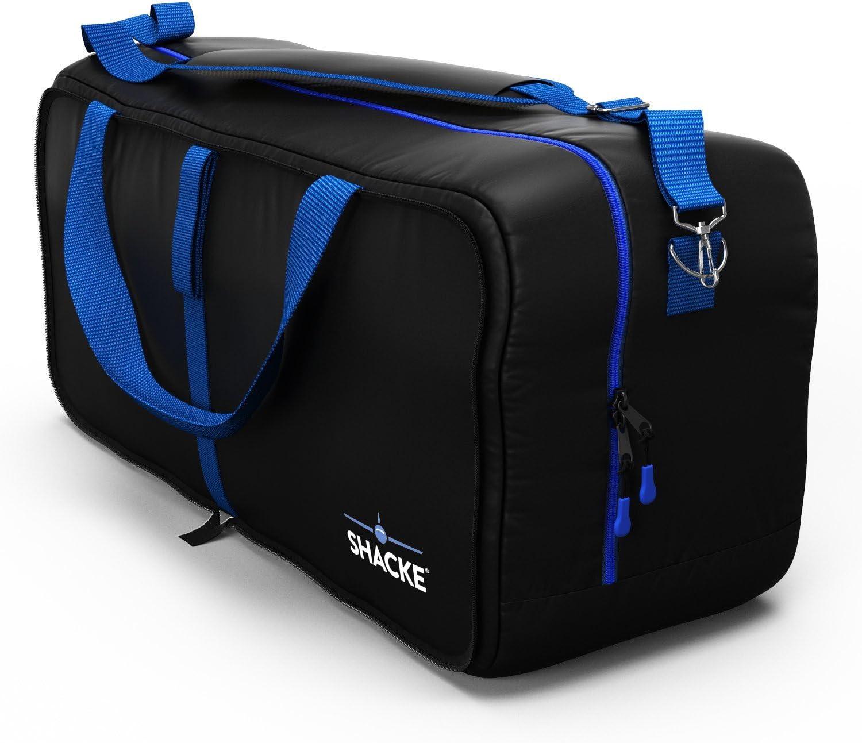 Shacke Duffel XL – Large Travel Duffel Bag – Foldable w Memory Foam Shoulder Pad