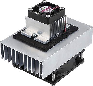 HSEAMALL - Kit de sistema de refrigeración termoeléctrico de 12 V ...