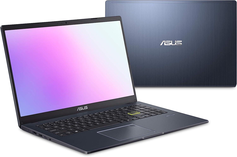 "ASUS Laptop L510 Ultra-Thin Laptop, 15.6"" FHD Display, Intel Celeron N4020 Processor, 4GB RAM, 128GB Storage, Windows 10 Home in S Mode, 1 Year Microsoft 365, Star Black, L510MA-DS04"