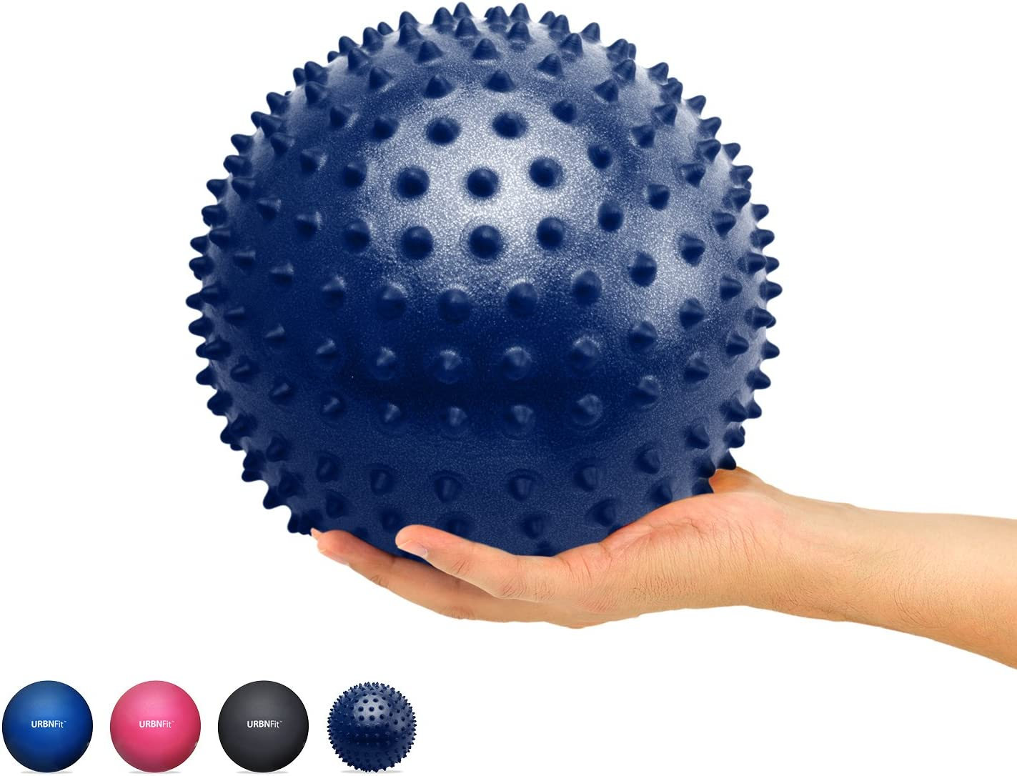 IPOTCH 28cm Mini Gymnastikball Yoga /Übungsball Yogaball Soft Pilates Therapieball