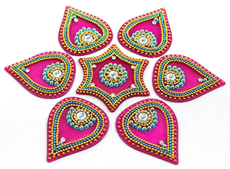 Amazon amba handicraft rangoli home decor diwali gift for amba handicraft rangoli home decor diwali gift for home interior handcrafted ppazfo