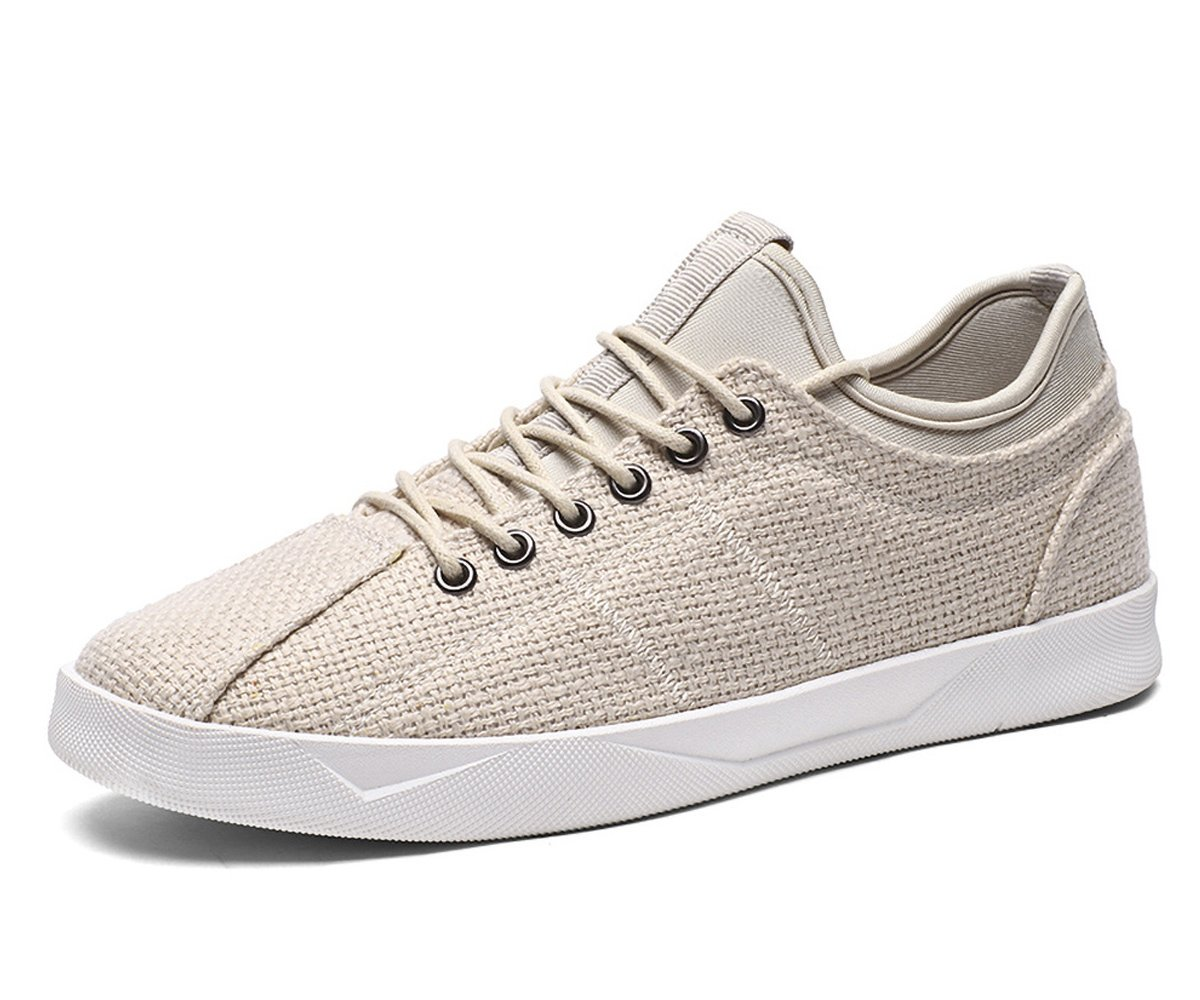 BEFAiR Classic Comfortable Sneakers Sports Leisure Walking Shoes for Men Off White