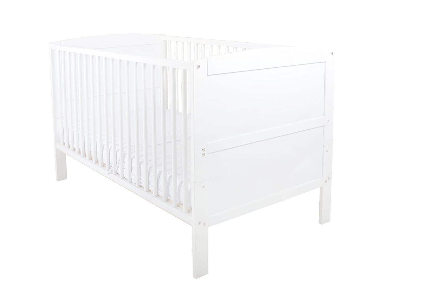 East Coast Hudson Cot Bed (White) East Coast Nursery 5850W