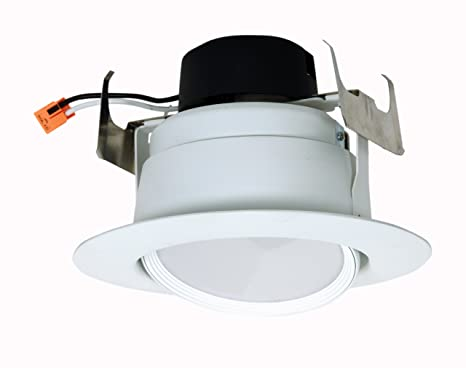 "Satco S9473 Direccional de LED Retrofit Downlight 5""-6"" 3000K 120V bombilla regulable"