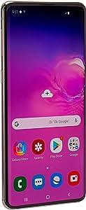 SAM Galaxy S10 128GB 8GB RAM SM G973F Dual Sim LTE Factory Unlocked Smartphone Prism - Black