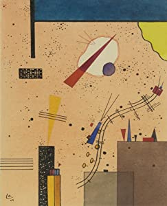 Berkin Arts Wassily Kandinsky Giclee Print On Canvas-Famous Paintings Fine Art Poster-Reproduction Wall Decor(Spray) Large Size 25.4 x 31.4inches