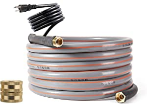 H&G lifestyles Heated Water Hose for Rv Self-Regulating 12 FT 90W Color