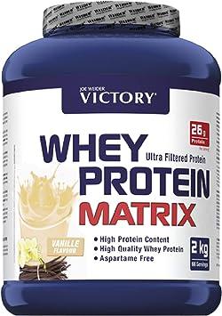 Victory Whey Protein Matrix Vainilla, 2 kg. Proteina de suero de leche. Promueve el crecimiento muscular.