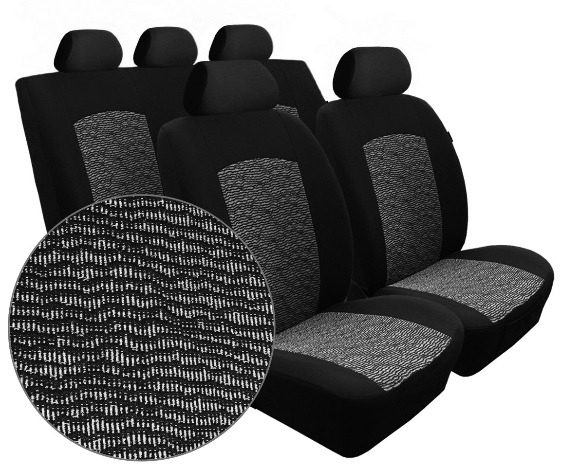 BLACK KIA SPORTAGE PREMIUM CAR SEAT COVERS PROTECTORS 100/% WATERPROOF