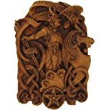 Morrigan Wall Plaque Wood Finish