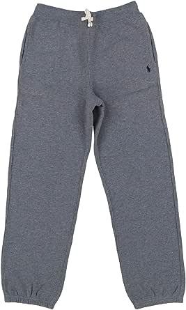 Polo Ralph Lauren Boys Fleece Sweatpants (X-Large, Gray)