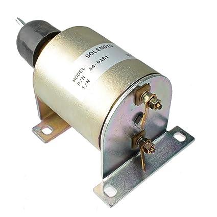 Amazon com: Mover Parts Fuel Solenoid 44-9181 449181 41-1566 411566